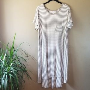 NWOT LuLaroe Striped Flowy Tunic Dress